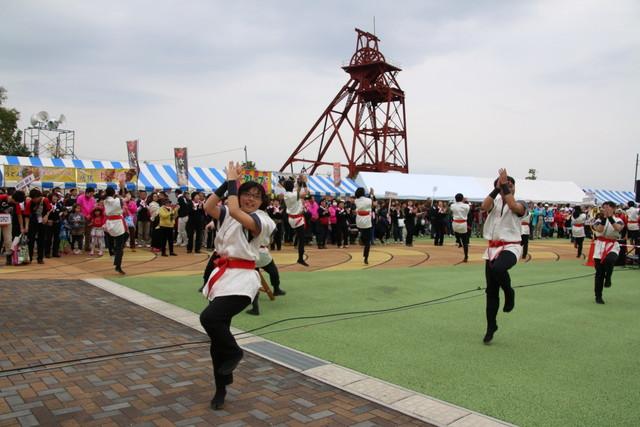 炭坑節総踊り